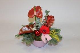 Kerst  arrangement 16-49